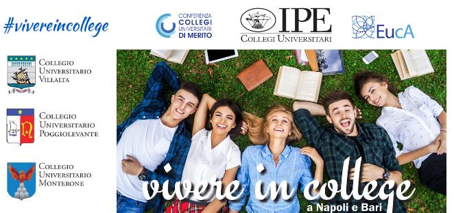 Vivere in un College IPE a Napoli e Bari