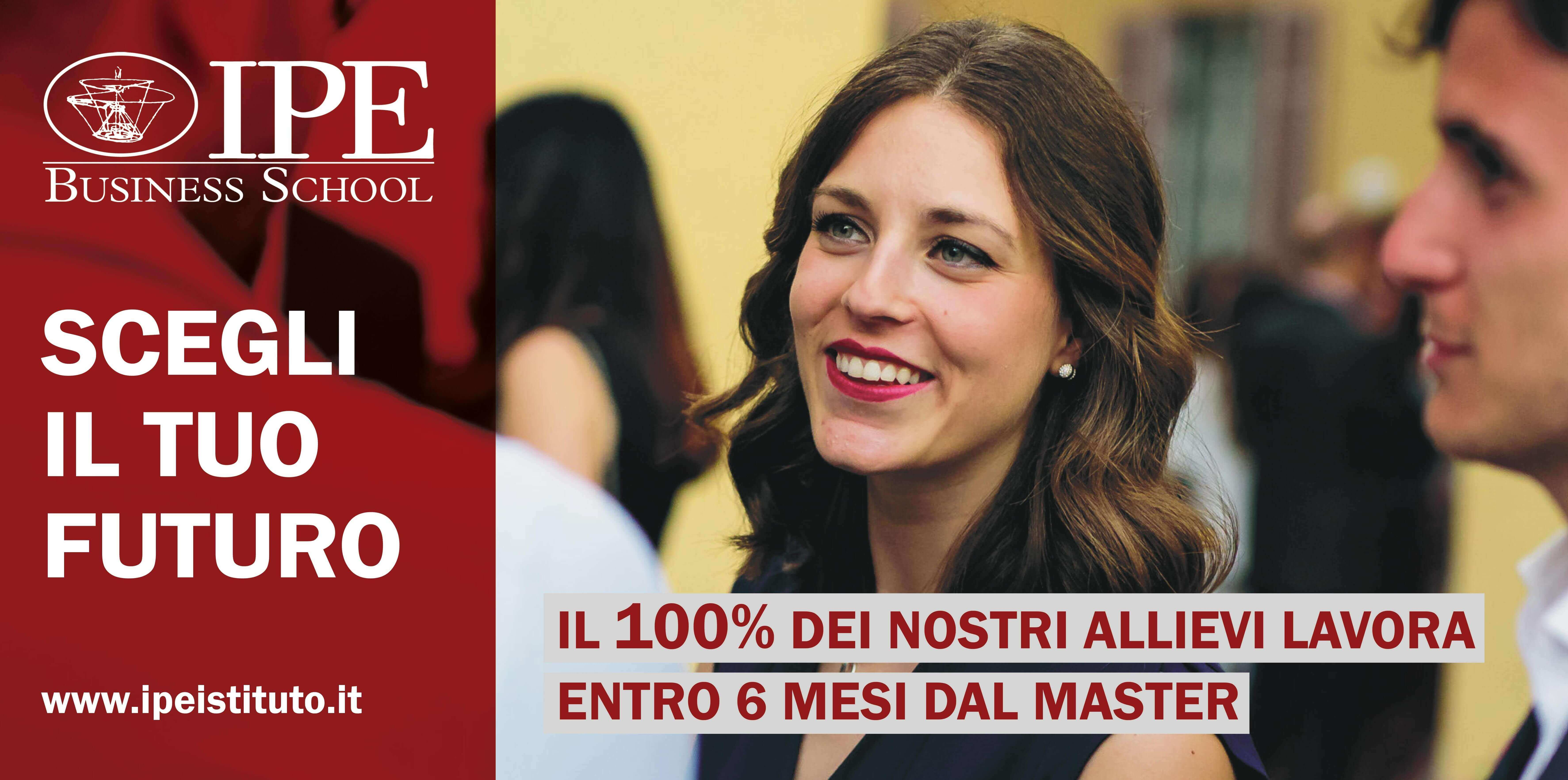 Cerchiamo talenti per i Master IPE Business School