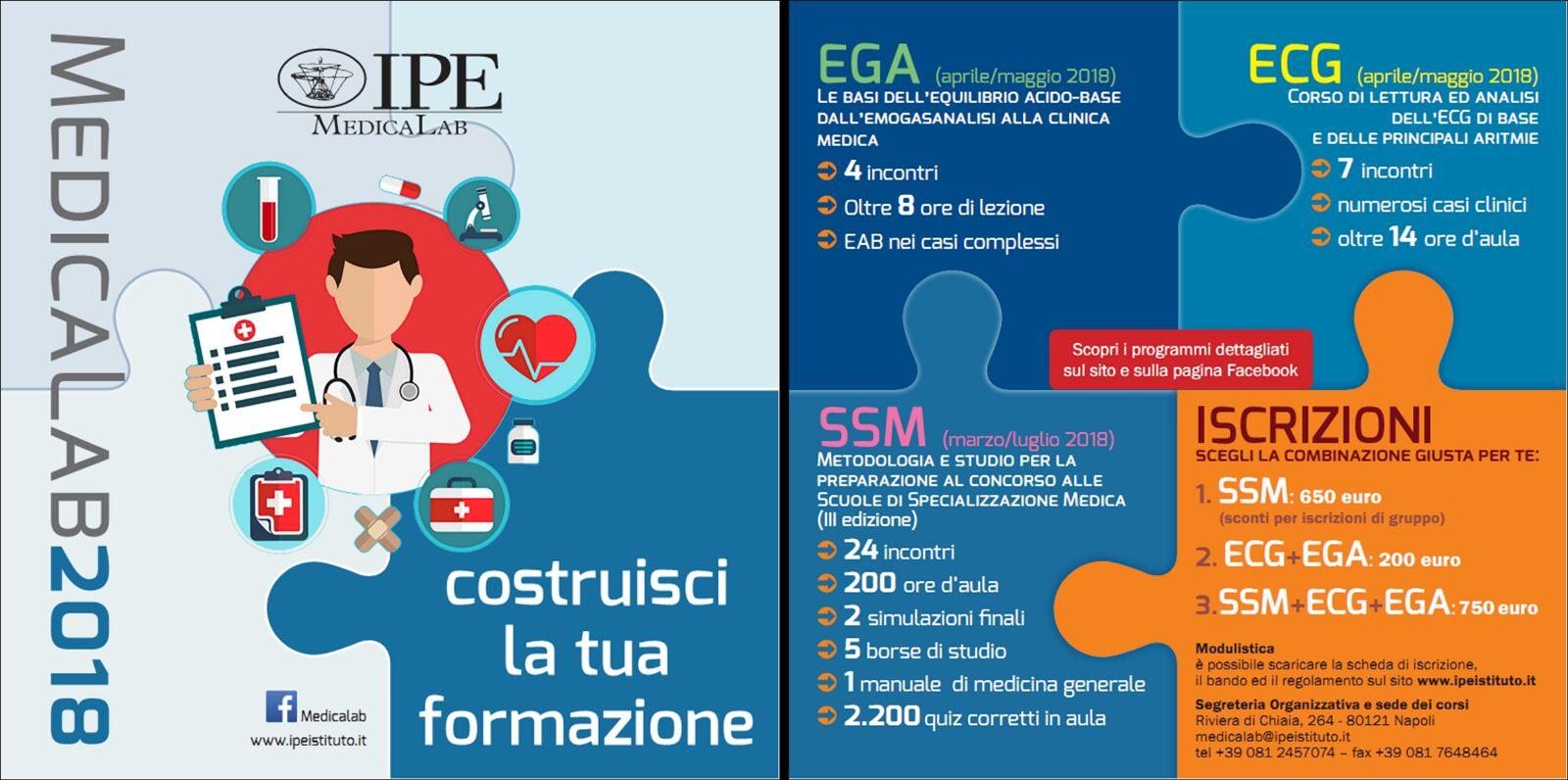 Medicalab IPE - Corsi 2018