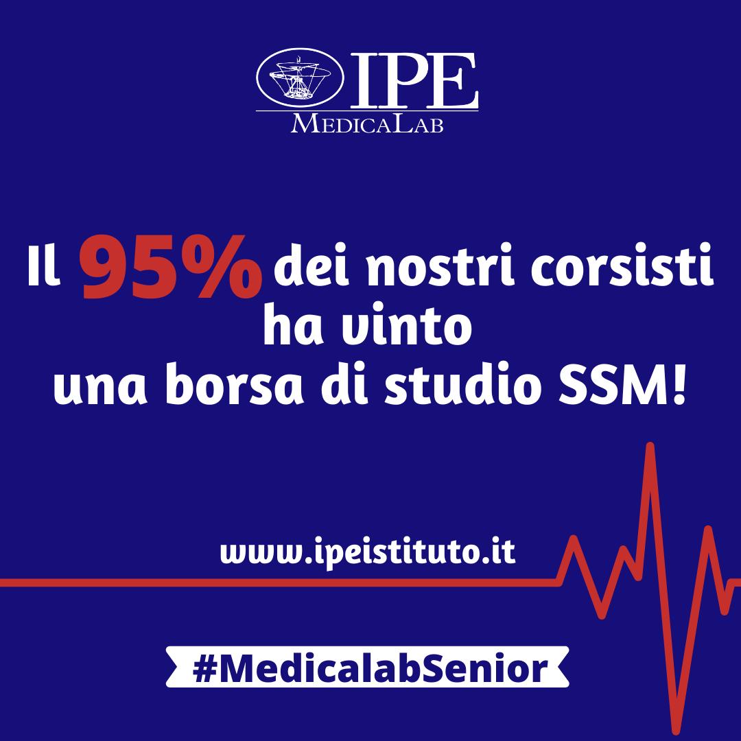 Risultati Medicalab Senior: preparazione al concorso SSM