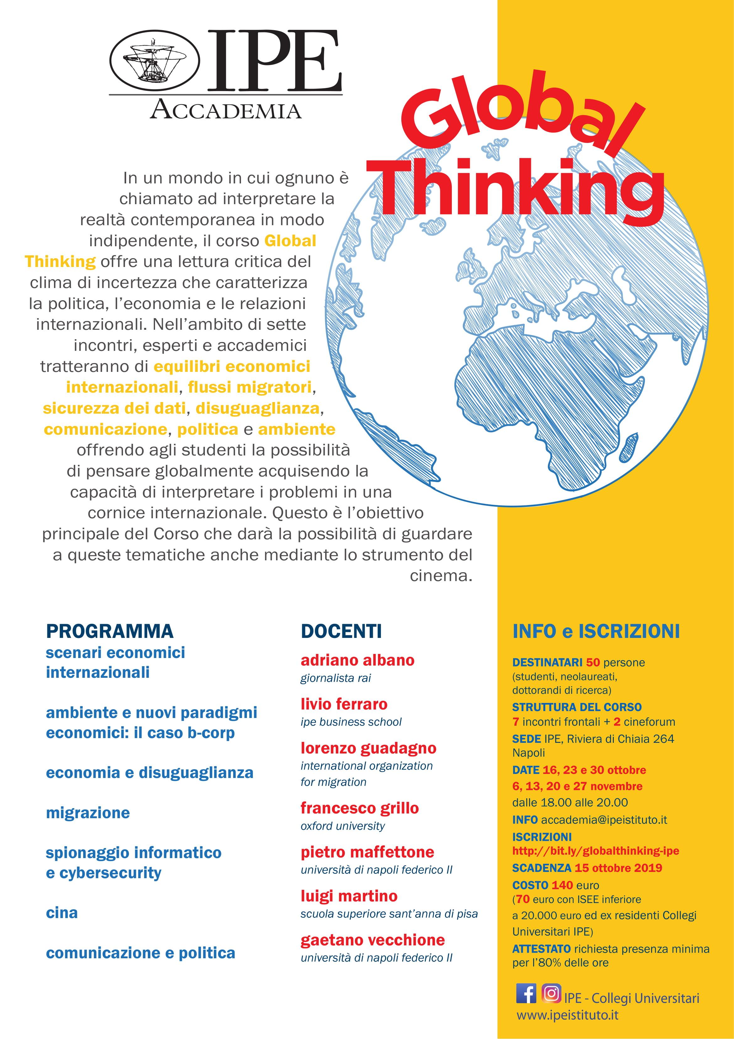 Global Thinking Accademia IPE