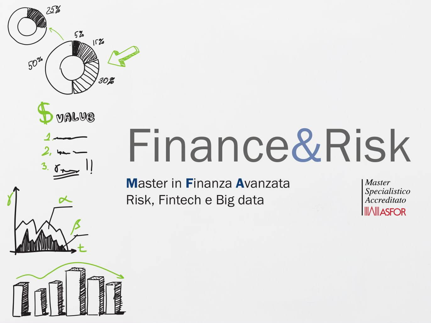 Master in Finanza AvanzataRisk, Fintech e Big data