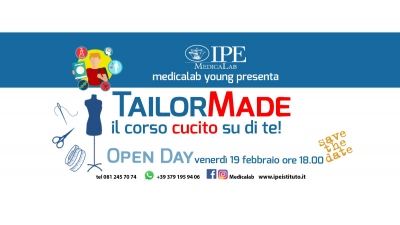 Open Day: Tailor Made